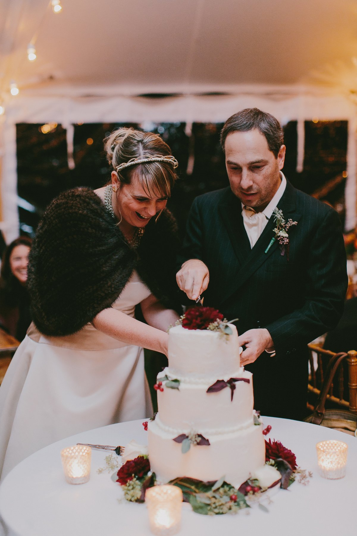 Eastman Hill Wedding Cake Cutting.jpg