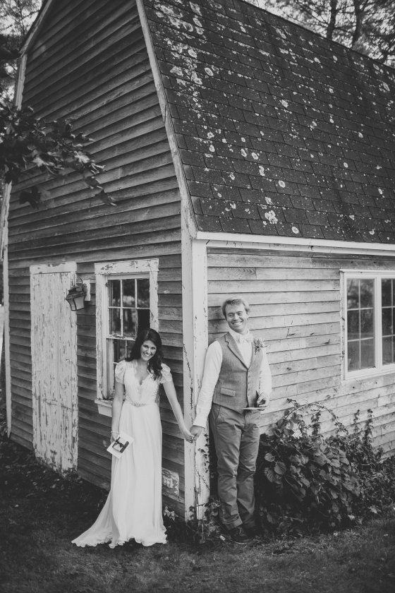 Vintage Maine Wedding