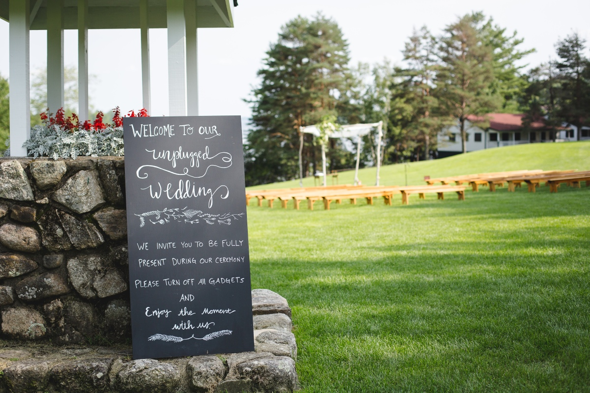 Camp Mataponi Unplugged Wedding Signage.jpg