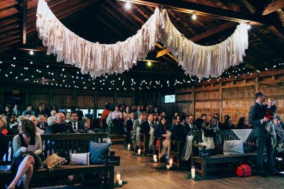 camp-wahelo-indoor-wedding-ceremony