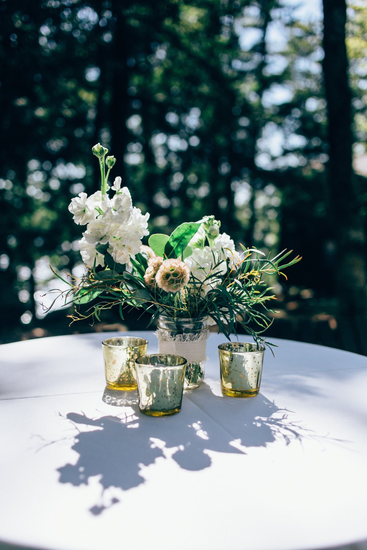 Camp Wahelo Wedding Floral