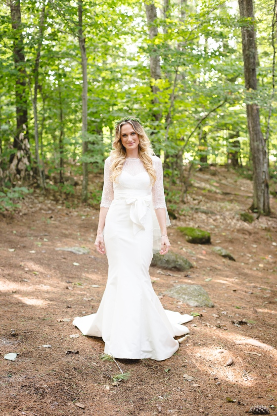 Camp Mataponi Wedding Bridal Portrait