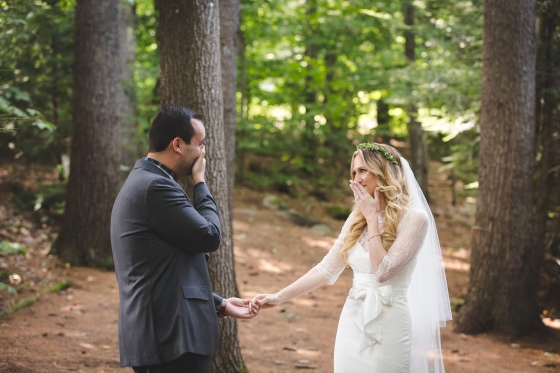 Camp Mataponi Wedding First Look Photography