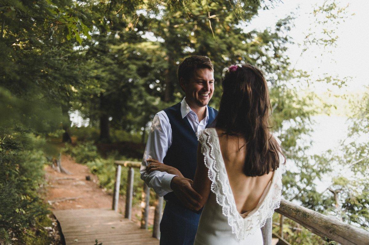 Camp Kieve Wedding First Look Hannah and zak.jpg