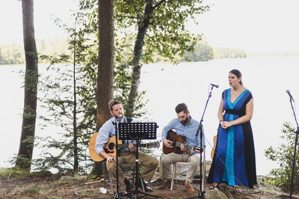 HannahandZak Camp Kieve Wedding Ceremony Band.jpg