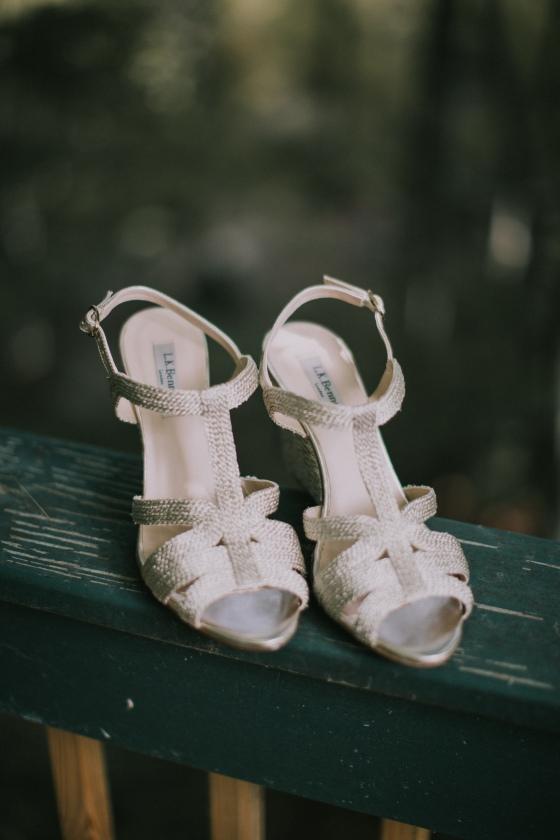 Kingsley Pines Wedding- Bridal Shoes .jpg