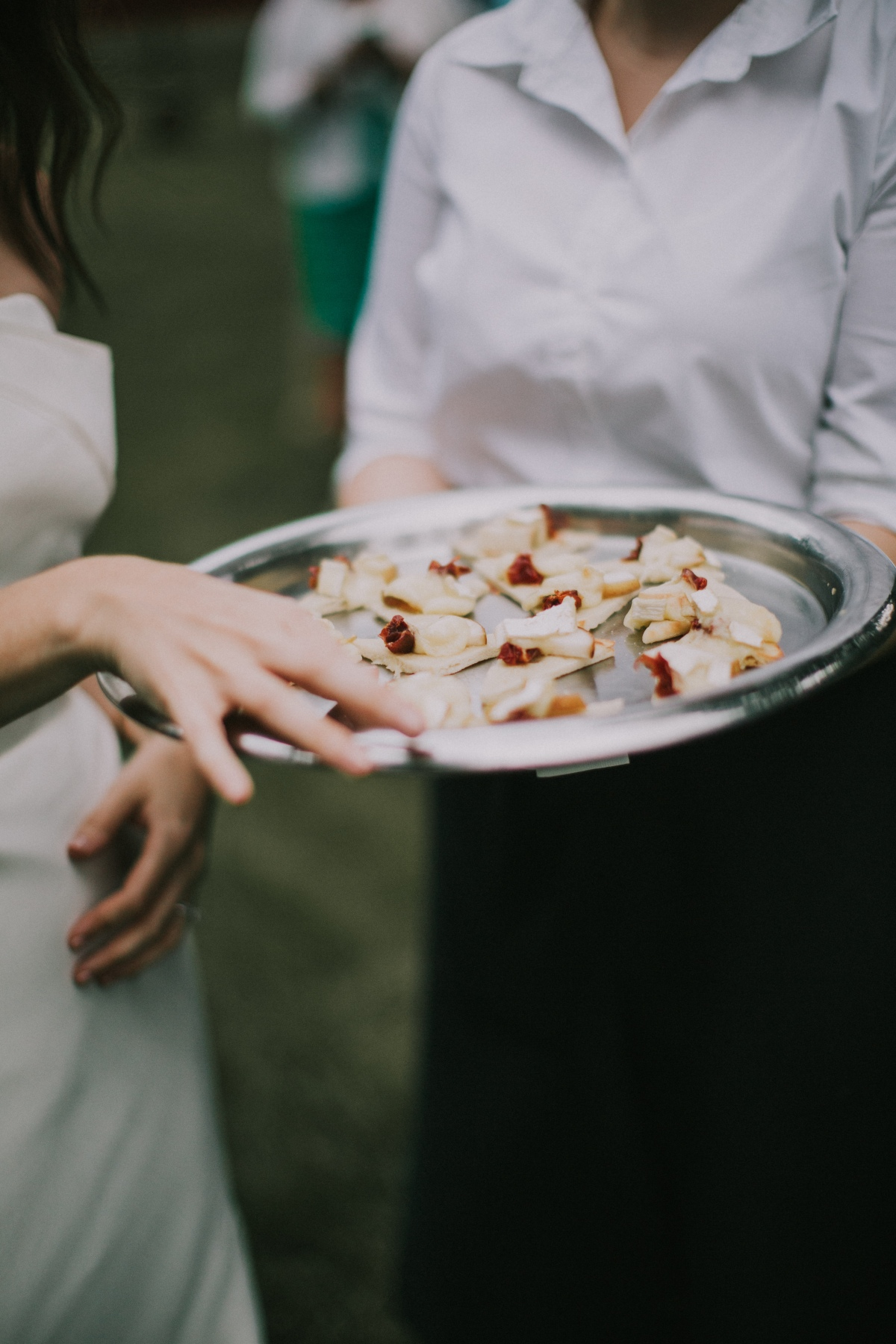 Kingsley Pines Wedding Cocktail Hour. 111 Maine.jpg