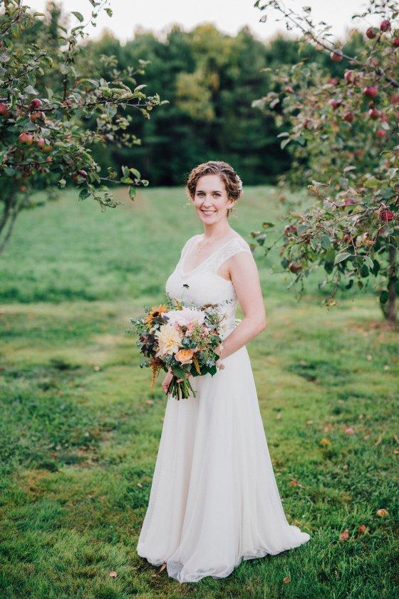 Flanagan Farm Wedding - Bridal Portrait