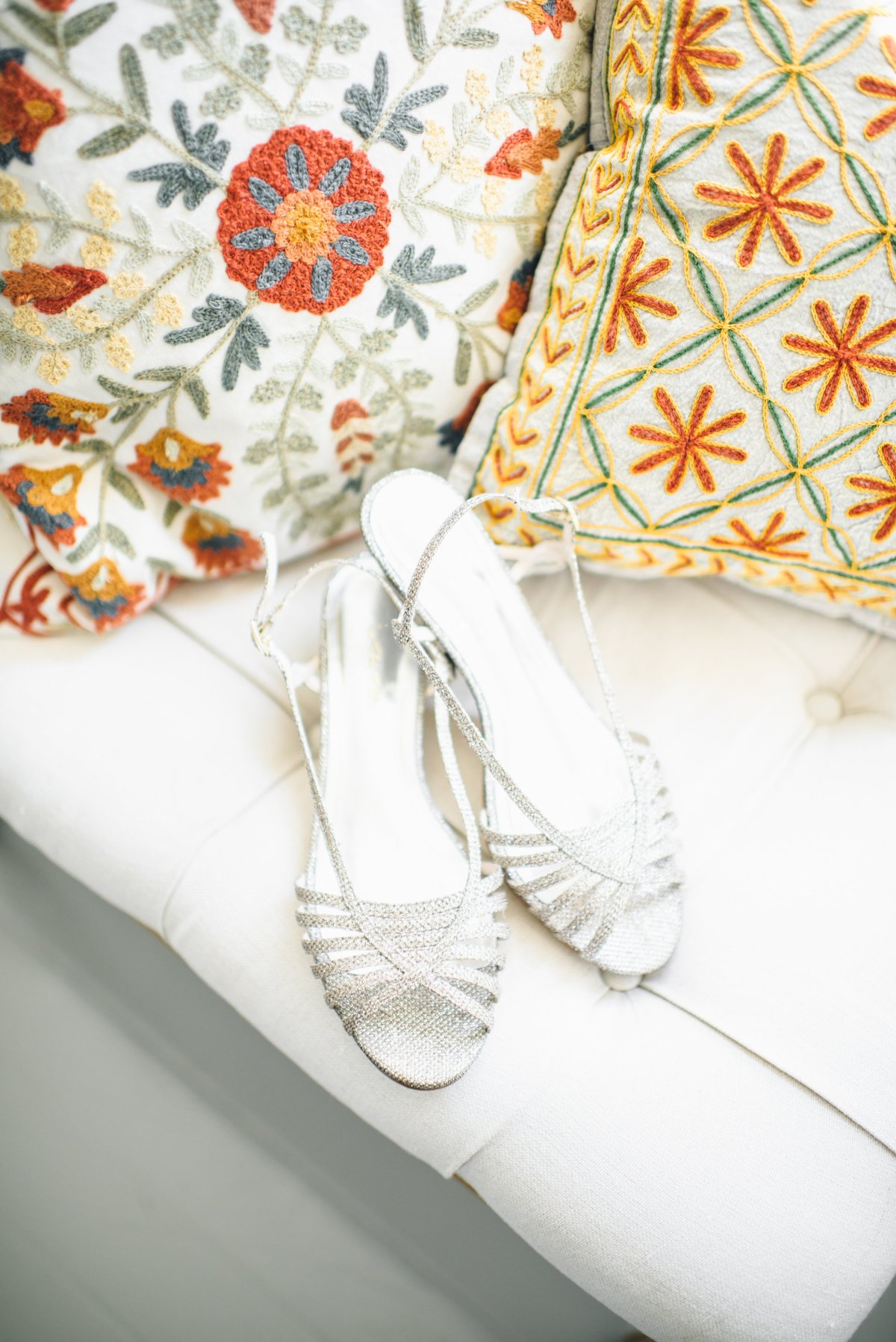 Flanagan Farm Wedding - Bridal Shoes