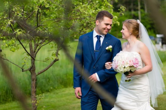 Flanagan Farm Wedding Bride and Groom Portrait Photography