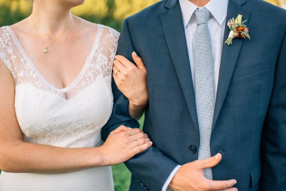 Flanagan Farm Wedding Bride and Groom Portraits