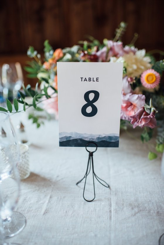 Flanagan Farm Wedding Day Of Paper - Table Numbers