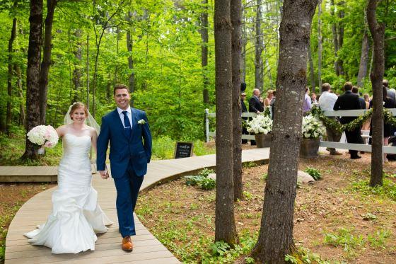 Flanagan Farm Wedding - Post-Ceremony