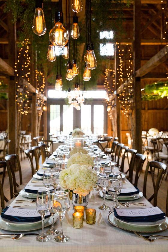 Flanagan Farm Wedding - Reception Decor