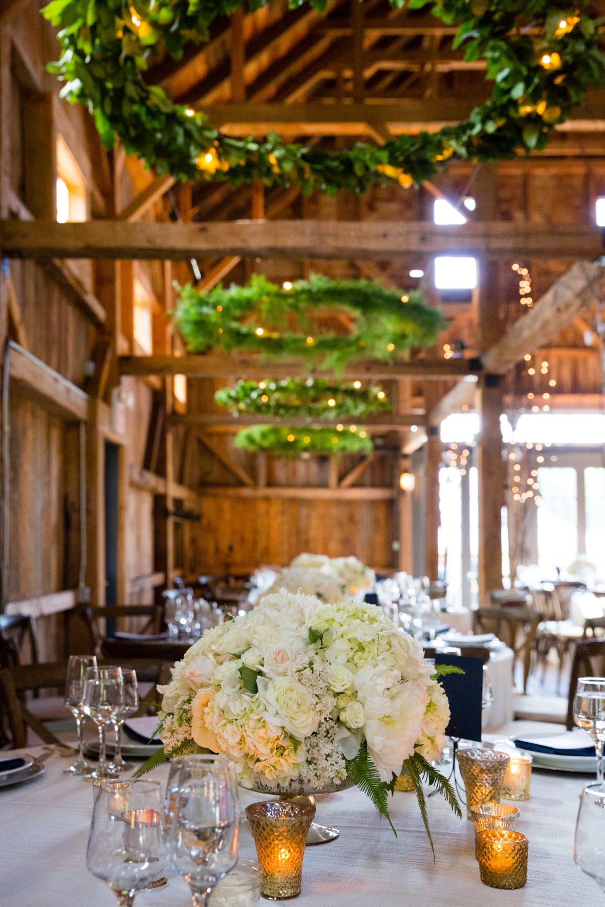 Flanagan Farm Wedding Reception Decor