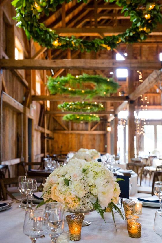 Flanagan Farm Wedding Reception Decor