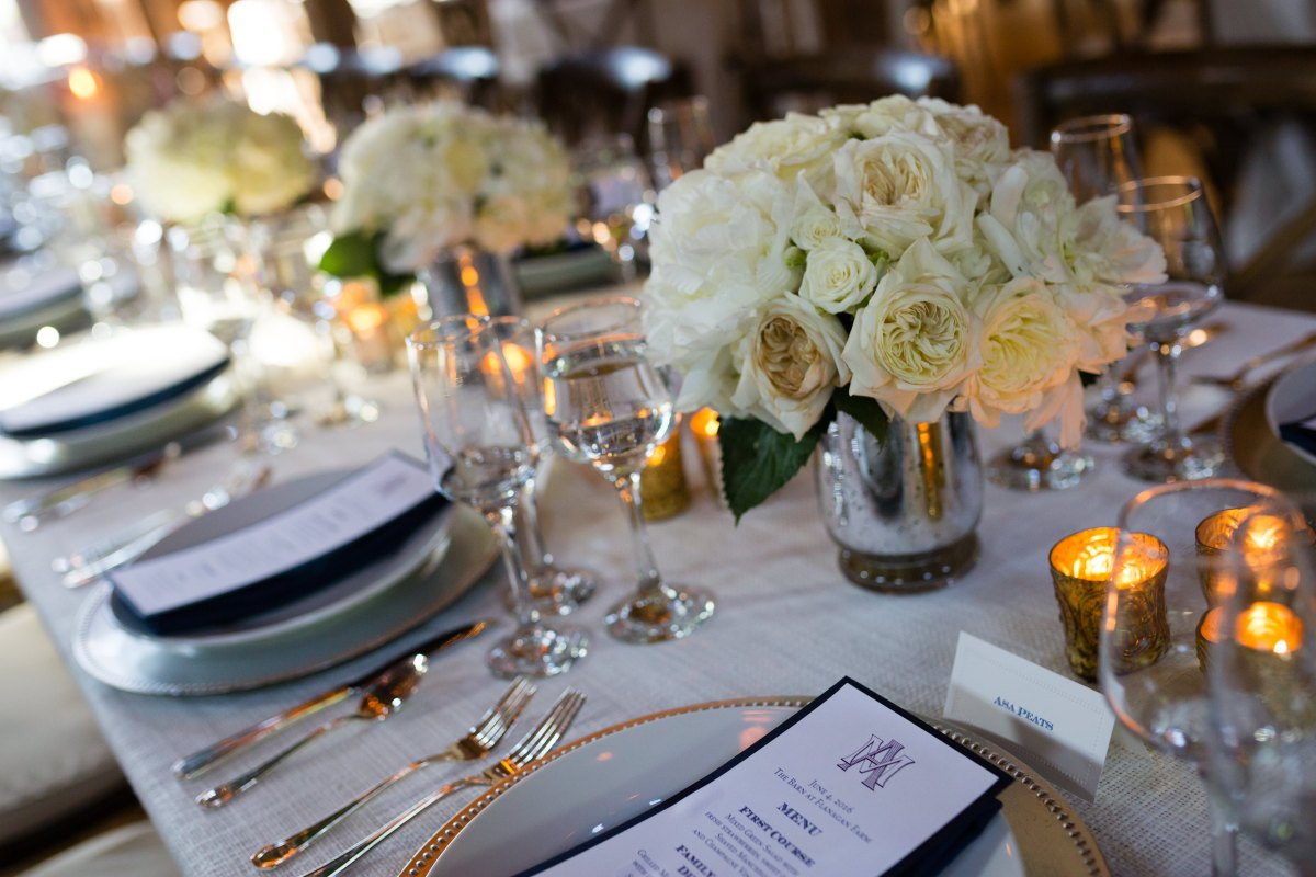 Flanagan Farm Wedding - Tablescape Details