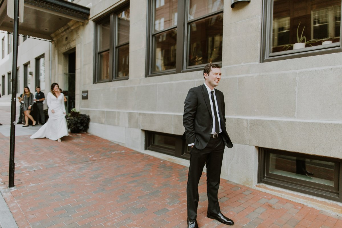 Press hotel wedding first look photography.jpg