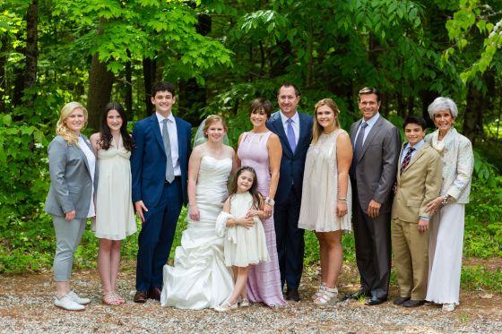Flanagan Farm wedding - Family Portraits