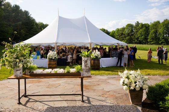 Flanagan Farm Wedding - Cocktail Hour