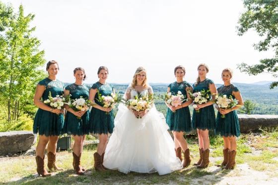 Granite Ridge Wedding Bridal Party Photography