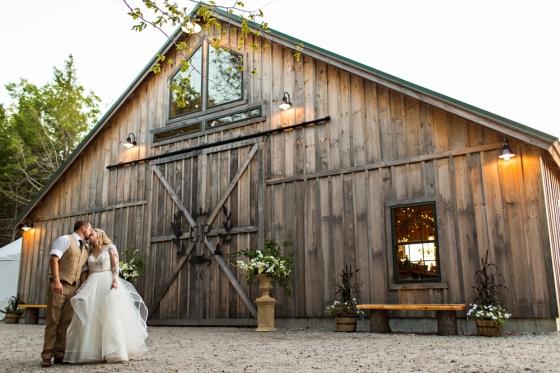 Granite Ridge Wedding - Bride and Groom Portraits
