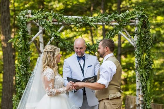 Granite Ridge Wedding Ceremony