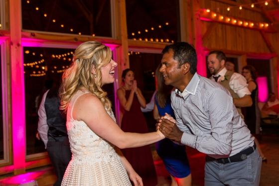 Granite Ridge Wedding Dancing
