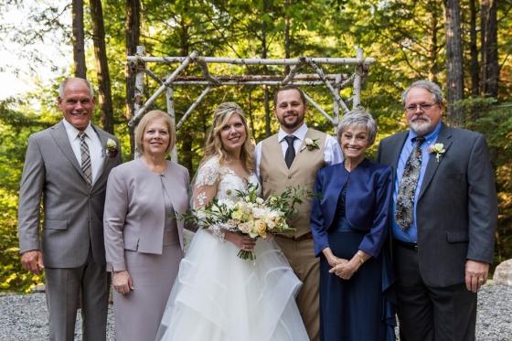Granite Ridge Wedding Family Portrait Photography