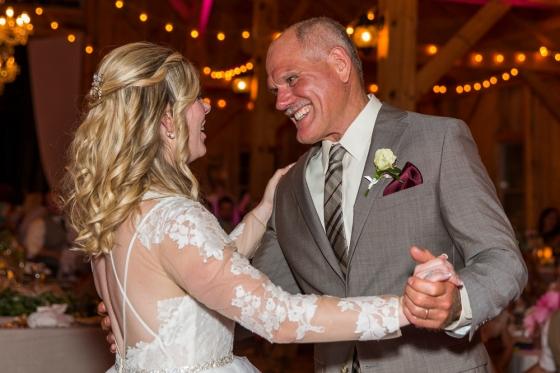Granite Ridge Wedding Father Daughter Dance