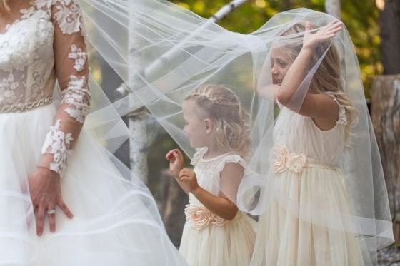 Granite Ridge Wedding Flower Girls