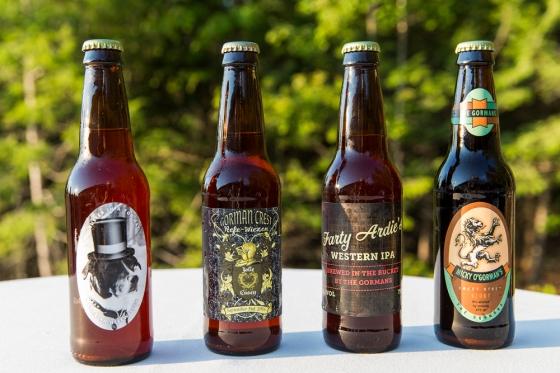 Granite Ridge Wedding Homemade Beer Favors