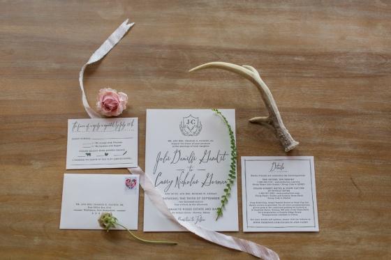 Granite Ridge Wedding Invitation Suite