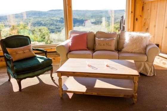 Granite Ridge Wedding Lounge Set Up