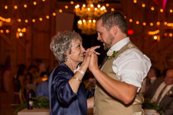 Granite Ridge Wedding Mother Son Dance