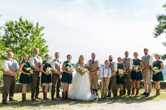 Granite Ridge Wedding Party Photography copy