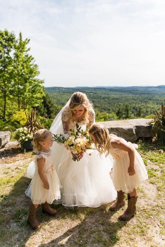 Granite Ridge Wedding Party Photography