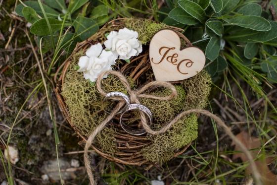 Granite Ridge Wedding Rings