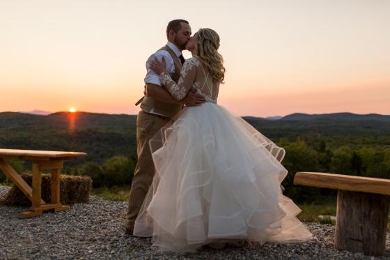 Granite Ridge Wedding Sunset Photography