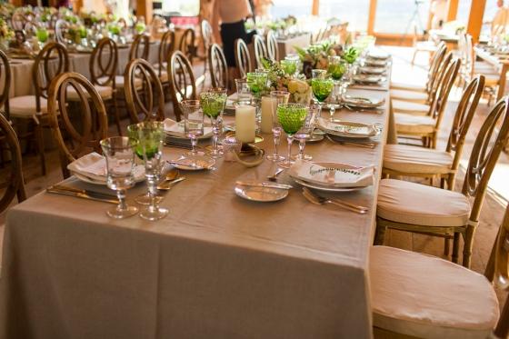Granite Ridge Wedding Tablescape Decor
