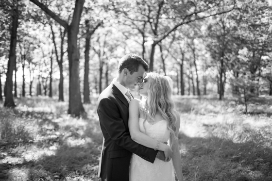 Ocean Gateway Wedding Black White Portrait