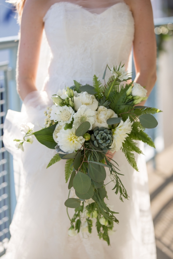 Ocean Gateway Wedding Bouquet