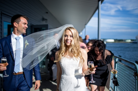 Ocean Gateway Wedding Bride Champagne
