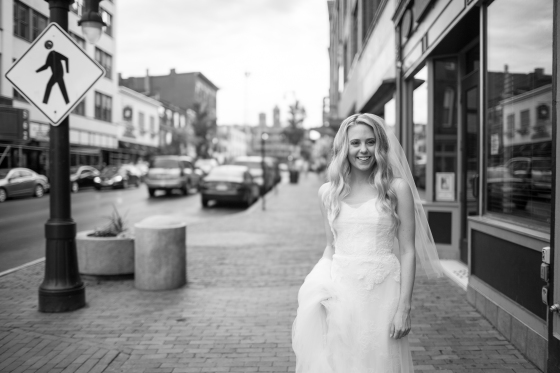 Ocean Gateway Wedding Bride in Portland