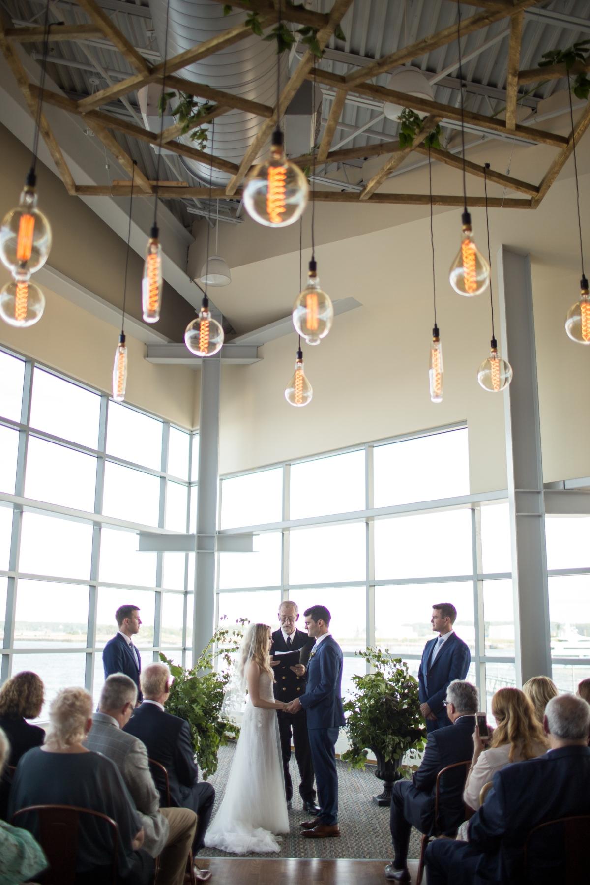 Ocean Gateway Wedding Ceremony
