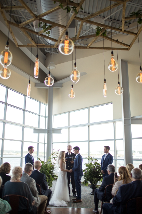 Ocean Gateway Wedding Ceremony
