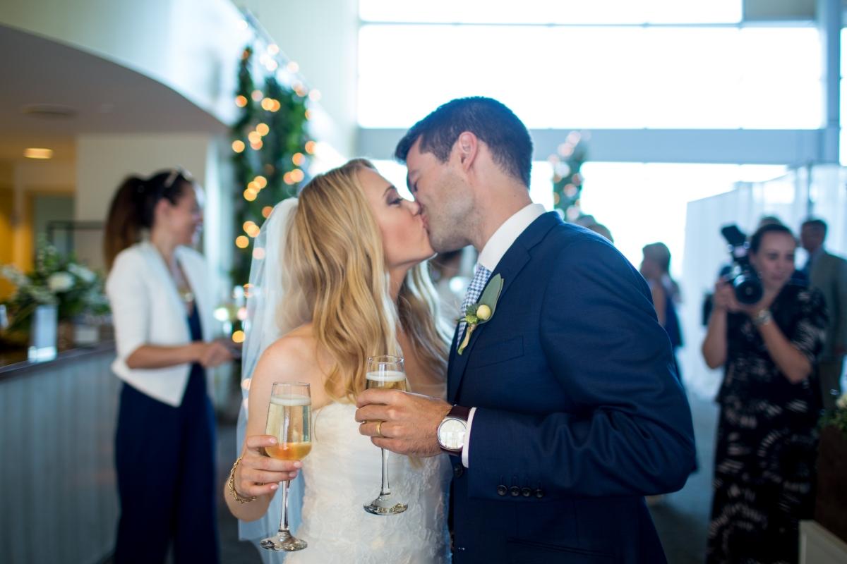 Ocean Gateway Wedding Champagne
