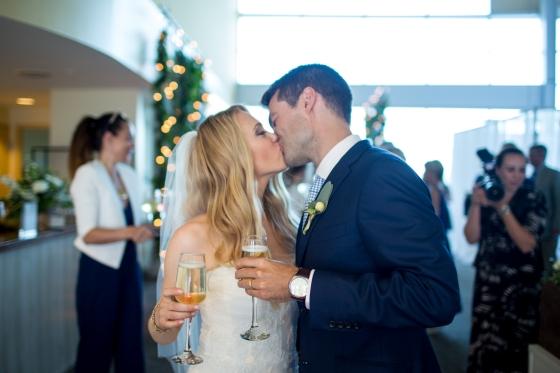 Ocean Gateway Wedding Champagne