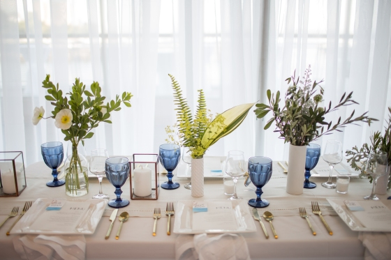 Ocean Gateway Wedding Dinner Table