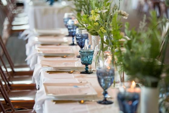 Ocean Gateway Wedding Glassware